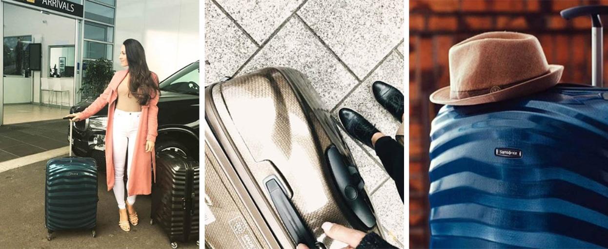 valise cabine 55x35x20 samsonite